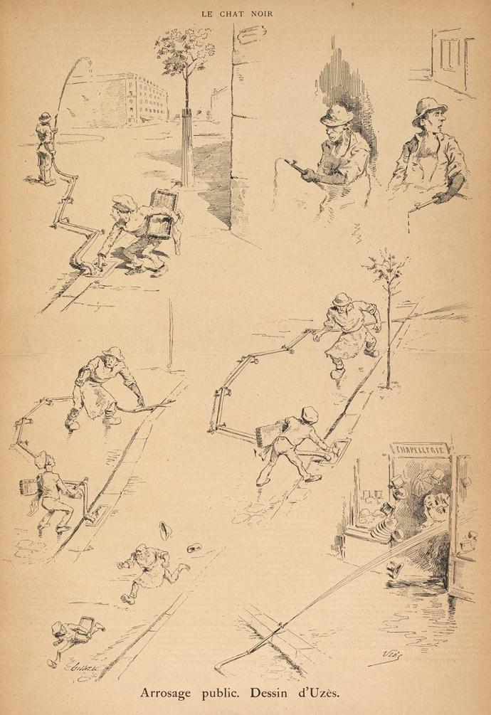 uzes-arrosage-publique-chat-noir-1885