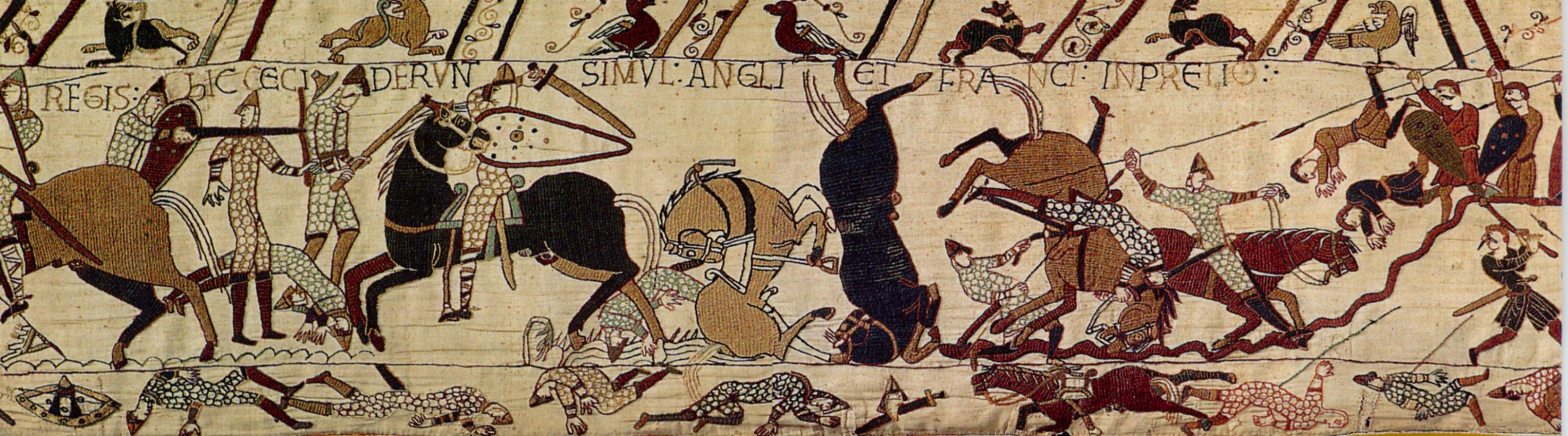 Tapisserie de bayeux t pfferiana - Qu est ce que la tapisserie de bayeux ...