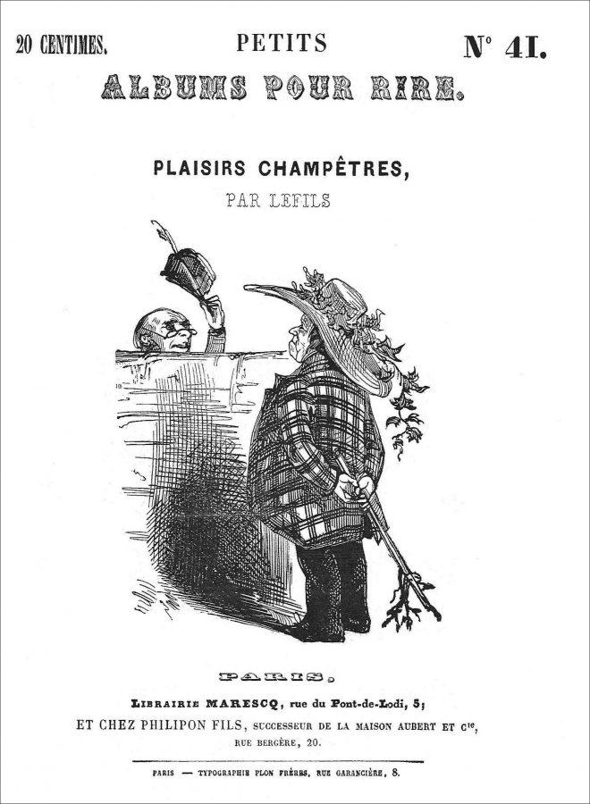 Plaisirs champêtres, Petits Albums pour rire, n° 41, coll. J.-M. Bertin.