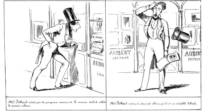 Cham, Histoire de Mr Jobard, Aubert & Cie, 1840, pl. 35.