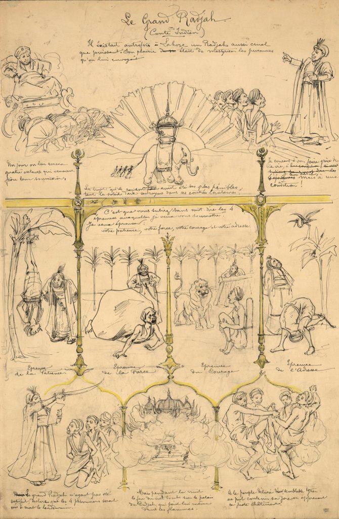 fig-33a-f-lacaille-le-rajah-planche-originale-imagerie-artistique-serie-11-numero-9-1893