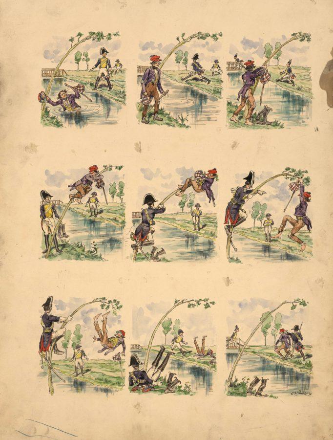 fig-38b-pince-quand-meme-planche-originale-imagerie-artistique-serie-10-n-16