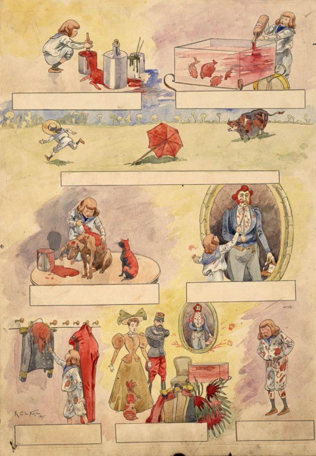 fig-40a-planche-originale-de-r-de-la-neziere-conte-rouge-imagerie-artistique-serie-13-n-17-1895