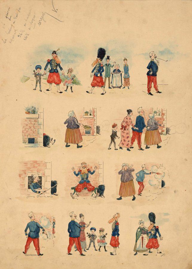 fig-40b-planche-originale-de-le-mouel-le-sapeur-gruyer-imagerie-artistique-serie-1-n-14-1886