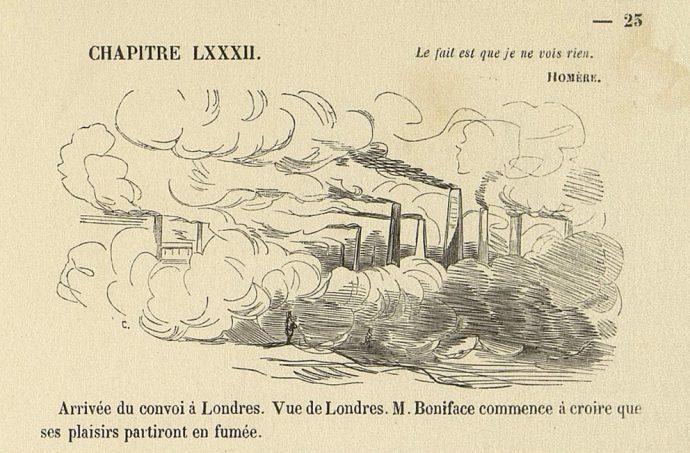 Fig. 84 – Cham, Impressions de voyage de Mr Boniface, Paulin, 1844, détail pl.23