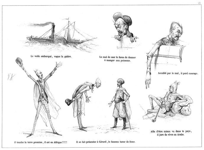 Fig. 87 – V. Adam, Mr de la Lapinière, H. Gache éditeur, 1851, pl. 18