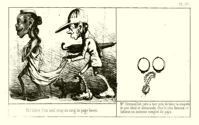 Fig. 90 – T. Lobrichon, Histoire de Mr Grenouillet, 1856, pl. 36