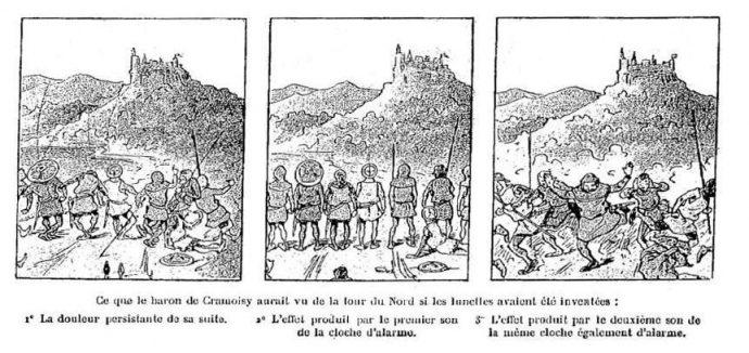 Fig. 93 – Christophe, Le baron de Cramoisy, Le Petit Français illustré, 3 mars 1900