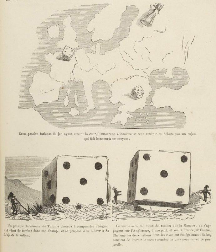 Fig.95 – Gustave Doré, Histoire de la Sainte Russie, 1854, détail p. 153
